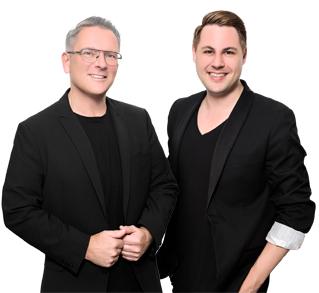 Die Inhaber von TOPP&TOPP: Andreas und Dominik
