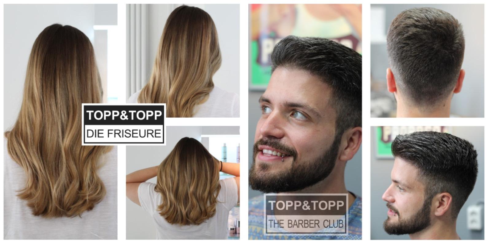Vorher Nachher Frisur, mit und ohne Extensions
